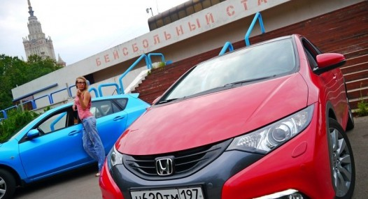 Honda Civic 5D 2012: без люстры не то!