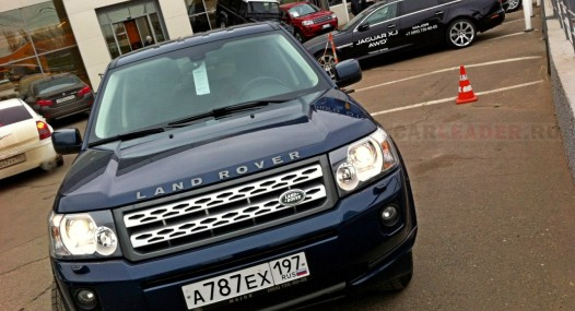 LR Freelander car leader