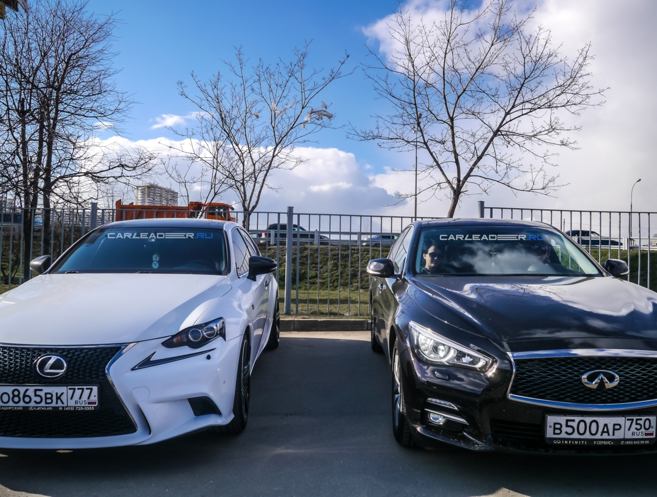 IS 250 vs Q50t Car Leader