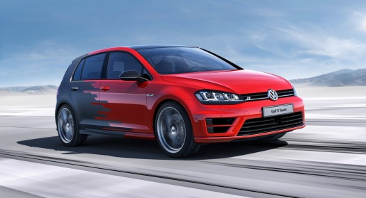 VW Golf R 2016 car leader
