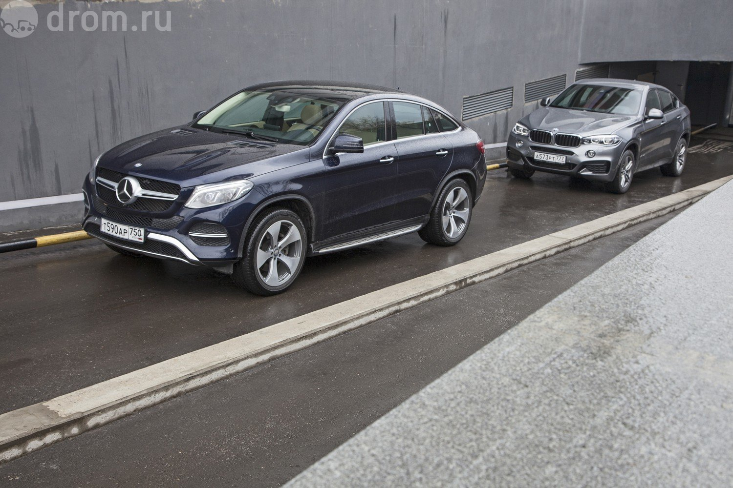 Mercedes GLE vs BMW X6