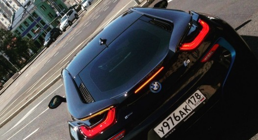 BMW i8 Car Leader