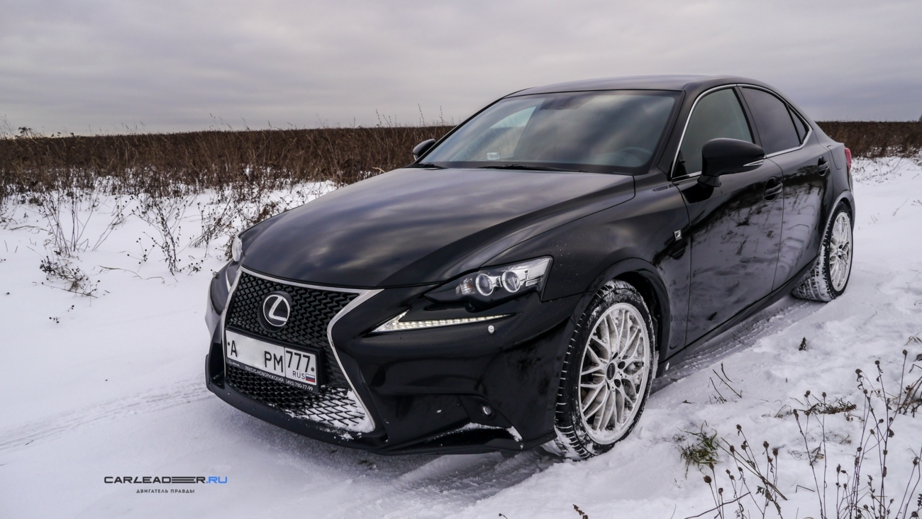 Lexus IS Continental tires Car Leader